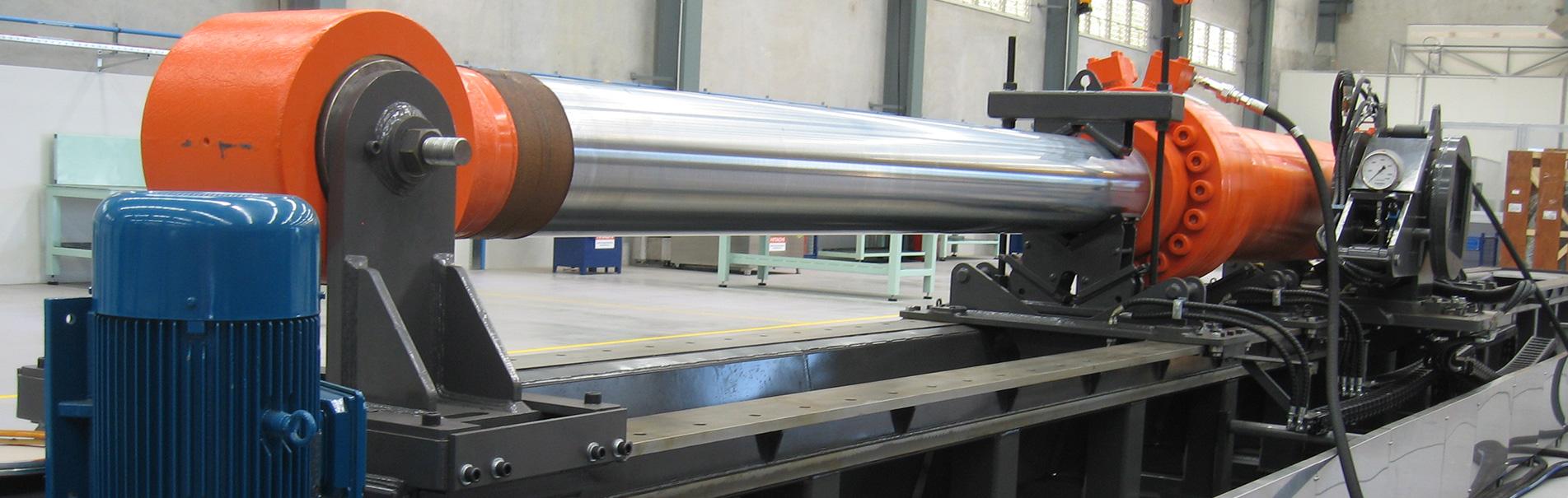 Hydraulic Cylinder Service Bench Jaws Pty Ltd